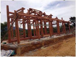 Dựng nhà gỗ kẻ truyền