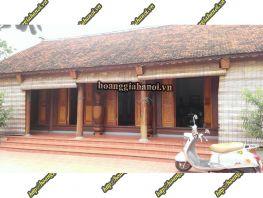 Nhà gỗ kẻ truyền Bắc Bộ và cổ truyền Nam Bộ