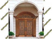Mẫu cửa đồng, cổng đồng
