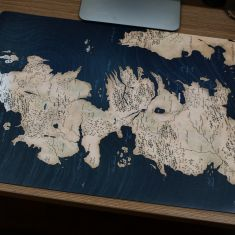 Mouse pad Game of Thrones ( 60x40cm)