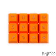 Keycap Zodiac PBT xuyên led cam