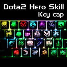 Keycap Skill Dota 2 xuyên led (tổng hợp)