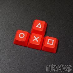 Keycap mũi tên PS4 đỏ xuyên led