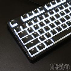 Keycap Double PBT xuyên led (104 nút)