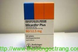 MICARDIS PLUS 80/1,25 mg