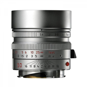 Leica Lens Normal 50mm f/1.4 Summilux M silver