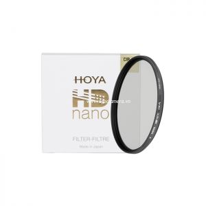 Kính lọc Filter Hoya HD Nano CPL (Circular Polarizer) - Chính hãng