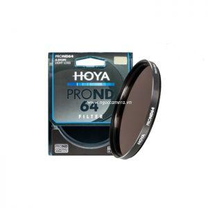 Kính lọc Filter Hoya Pro NDx64 - Chính hãng