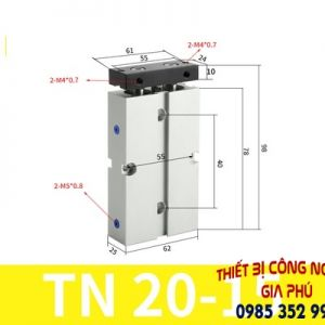 xilanh TN20x15S