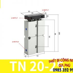 xilanh TN20x25S