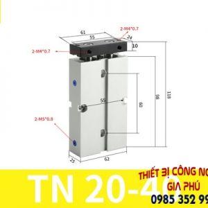 xilanh TN20x40S