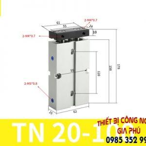 xilanh TN20x100S