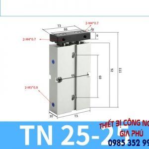 xilanh TN25x25S
