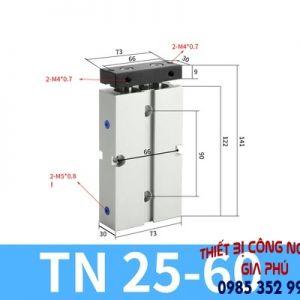 xilanh TN25x60S