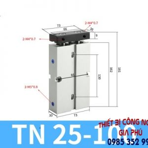 xilanh TN25x100S