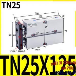 xilanh TN25x125S