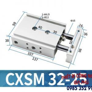 Xilanh CXSM32-25