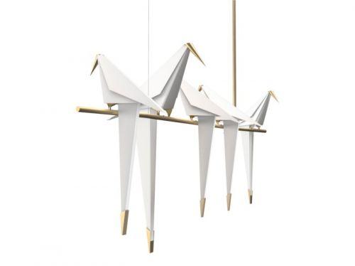 Đèn Thả Origami Birds