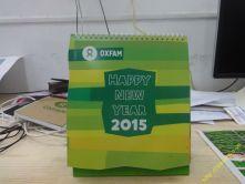 Lịch bàn Oxfam