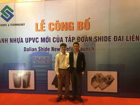 Ông Phạm Vũ Thái - Sales Manager của Cty cửa sổ Việt Châu Á.