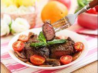 Thịt bò áp chảo mềm ngọt thơm ngon