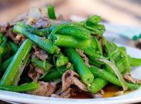 Thịt bò xào rau bí chuẩn vị, không bị xơ và dai