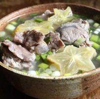 Canh thịt bò nấu khế cực kì ngon