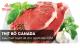 Thịt bò Canada - Lựa chọn tuyệt vời cho người tập GYM