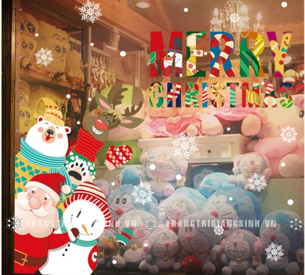 Decal Merry Chirstmas số 1