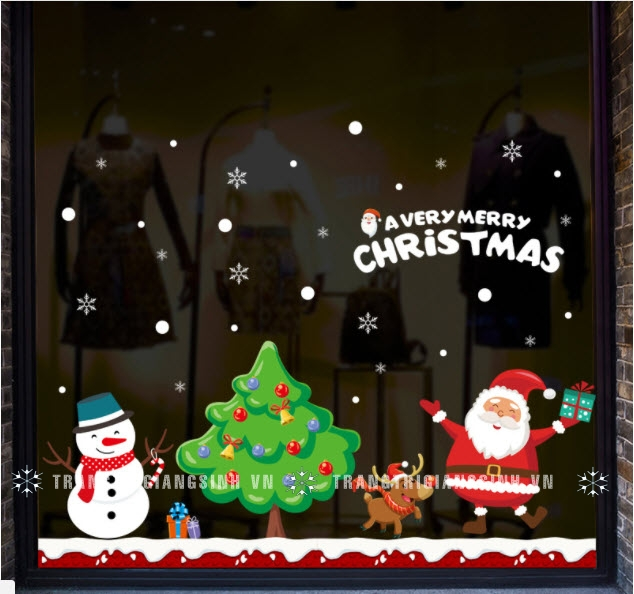 Decal Merry Christmas số 2