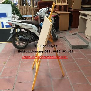 Bảng vẽ + giá vẽ chữ A điều chỉnh độ cao BV50x70/GV02V
