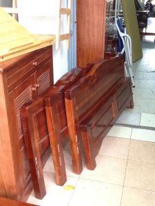 Giường gỗ tự nhiên G1219