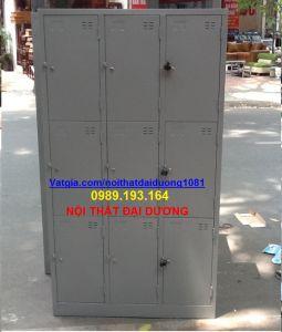 Tủ sắt locker cá nhân 9 cánh TS9/3K