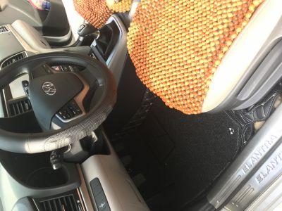 Thảm lót sàn Eco HD sonata màu đen