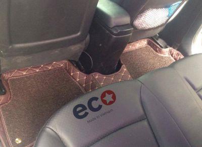 Lót sàn Eco HD màu nâu 2 lớp HUYNDAI ACCENT