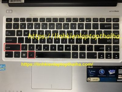Bàn phím laptop gõ không ra số - Linh kiện laptop Thái Hà