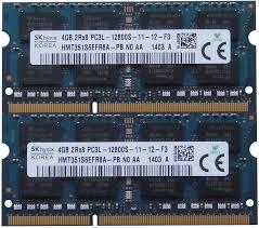 Ram Laptop 2G DDR3L Buss 16000MHz Hynix