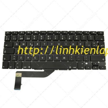 """Thay bàn phím Macbook Pro A1398 A1425 Retina15"""" 2013- 2015 MC975 MC976"""