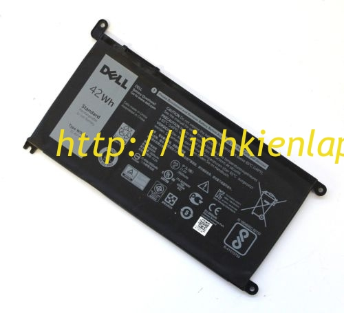 Pin laptop DELL INSPIRON 15 P66F 13 P69G ZIN