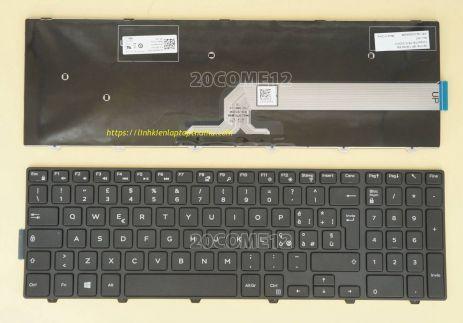 Bàn Phím Laptop Dell Inspiron 5557 15 5557