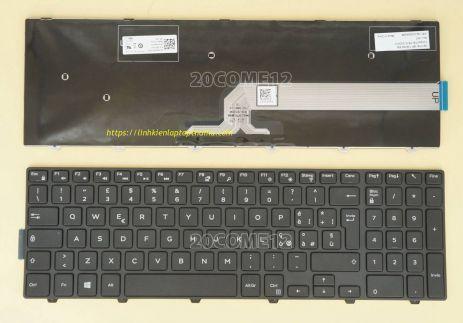 Thay Bàn phím laptop Dell inspiron 3542, 15 3542