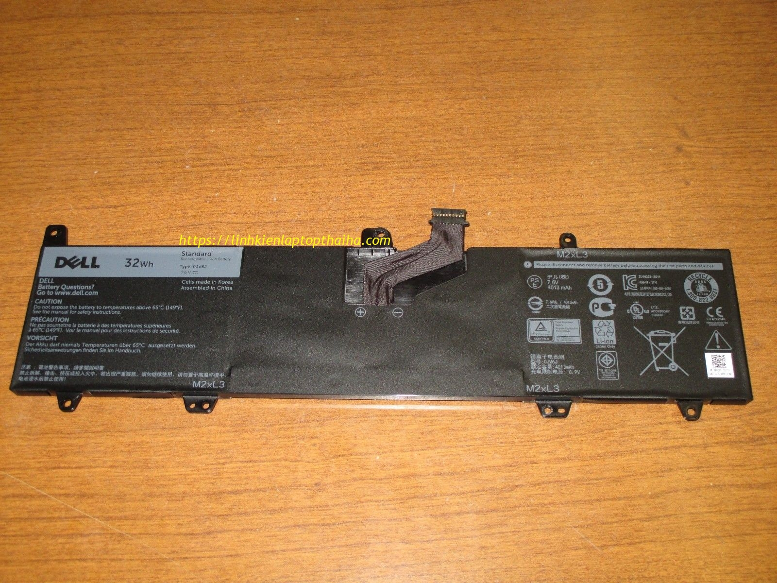 Pin laptop Dell Inspiron 11 11-3000 P24T ZIN