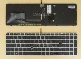 Bàn phím laptop HP Zbook 15u g4 có đèn sáng
