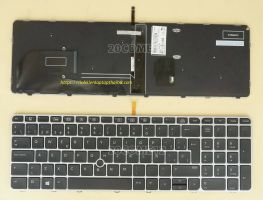bàn phím laptop HP Elitebook 850 g3