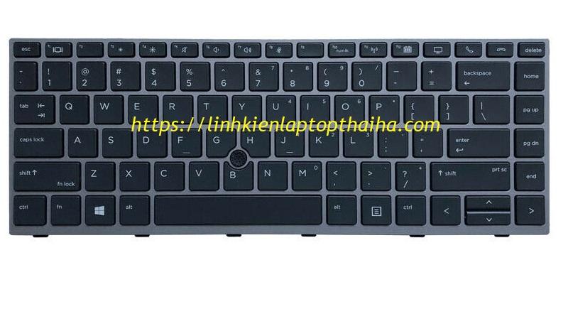 Bàn phím laptop HP Elitebook 840 G7