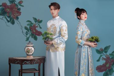 CHINA STYLE IN WEDDING PHOTOSHOOT