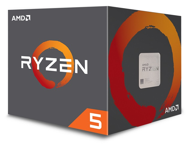 CPU AMD Ryzen 5 1600  3.2 GHz (3.6 GHz with boost) / 16MB / 6 cores 12 threads / socket AM4