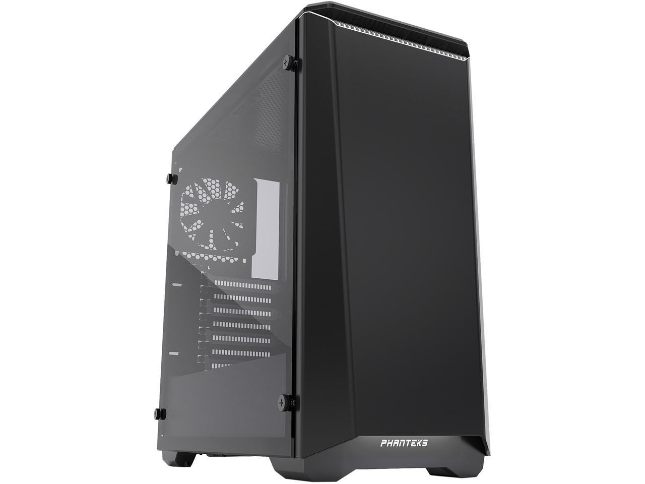 Phanteks Eclipse P400S Black/White Tempered Glass - RGB Mid-Tower
