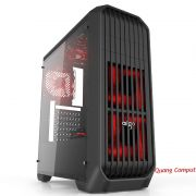 Aigo Starship Black - Mid Tower ATX
