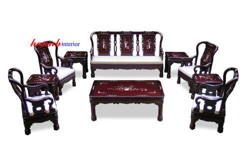 Bộ bàn ghế minh quốc triện BGG011